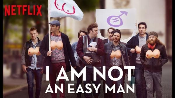 ⓒ Netflix 영화 '거꾸로 가는 남자' 이 세상에서 여성의 유방은 권력이 상징이다