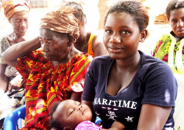 산과적 누공 환자였던 여성. KOICA의 '여성 누공 치료 및 예방 사업'을 통해 치료를 받고 회복했다.  ©한국국제협력단