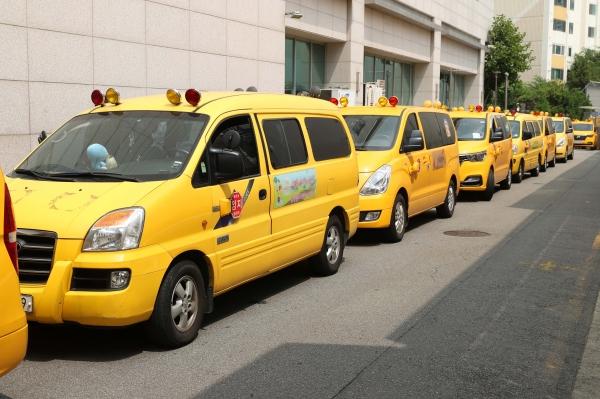 어린이집 통학차량 ⓒ뉴시스.여성신문