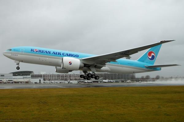 대한항공 보잉 777F 화물기 ⓒ대한항공
