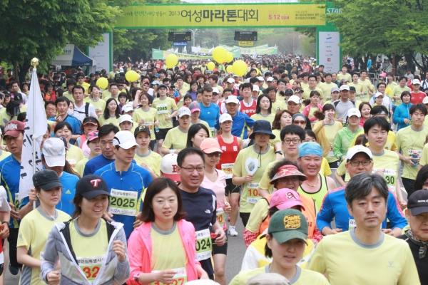2013년 '여성마라톤대회' ⓒ여성신문