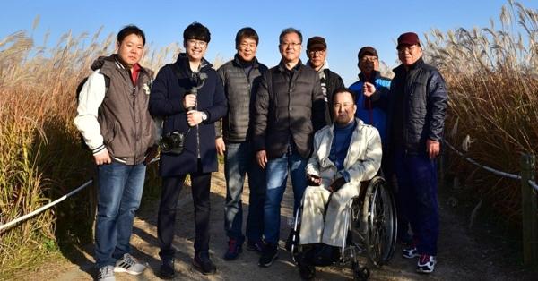 '힐링포토, 나도 사진작가교실' 회원들 ⓒ양천구청