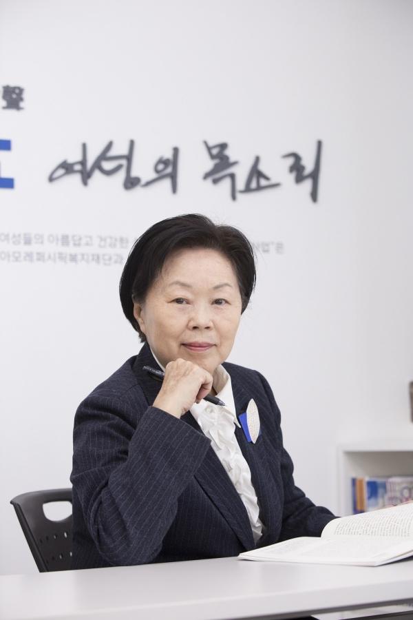 최금숙 한국여성단체협의회 회장 ⓒ본인 제공