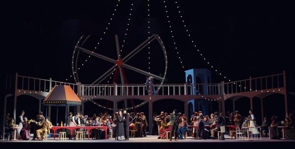 국립오페라단의 '라보엠' 중 한 장면 ⓒ국립오페라단 제공