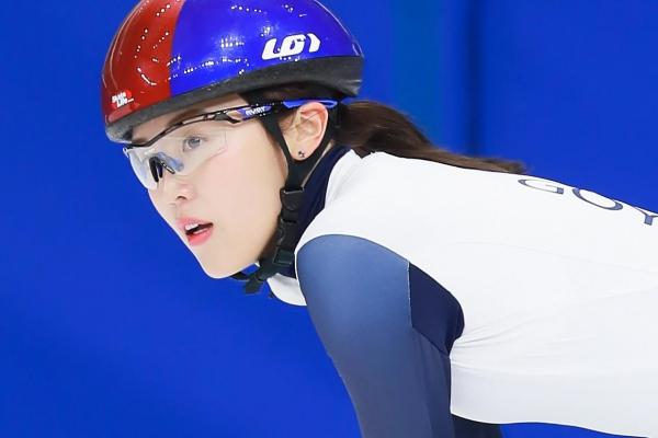 쇼트트랙의 김아랑 선수. ⓒ리코스포츠에이전시 제공