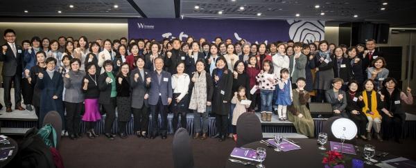지난 5일 서울 종로구 세종홀에서 열린 한국여성재단 '창립 19주년 기념 후원의 밤' 행사. ⓒ한국여성재단