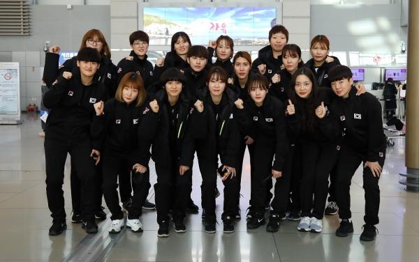여자 핸드볼 대표팀 ⓒ대한핸드볼협회 제공