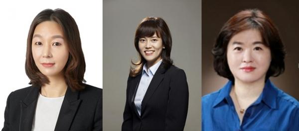 왼쪽부터 조주은 GS그룹 상무, 이유미 LS그룹 이사, 이정선 홈앤쇼핑 TV영업본부장 ⓒGS그룹, LS그룹, 홈앤쇼핑