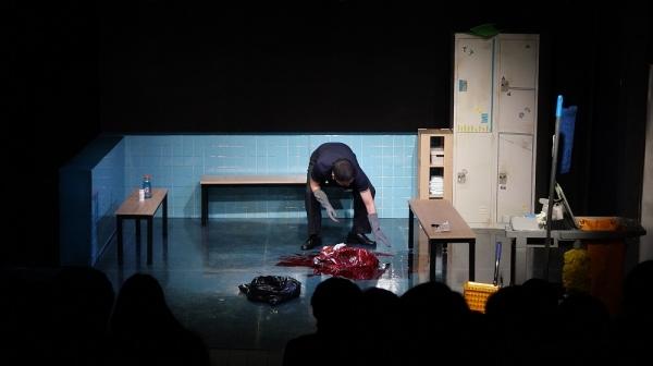 연극 '마른 대지'의 한 장면. ⓒ강일중