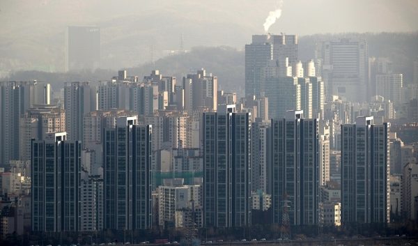 서울 강남구의 한 아파트 단지. ⓒ뉴시스·여성신문