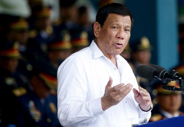 로드리고 두테르테 필리핀 대통령. ⓒ뉴시스