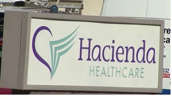 미국 애리조나주 피닉스의 해시엔다 요양병원 로고.  ⓒCBS 캡처