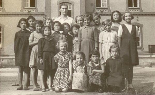 '폴란드로 간 아이들'의 한 장면. ⓒ커넥트픽쳐스