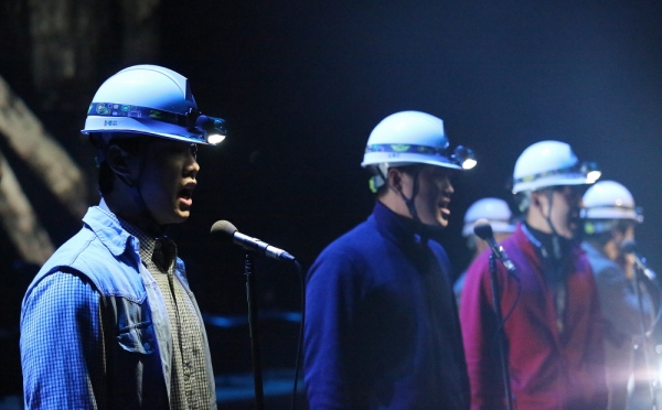 미국 노동운동 할란카운티의 실화를 바탕으로 한 뮤지컬'1976 할란카운티'가 오는 1월 11일부터 27일까지 부산 영화의전당에서 공연한다.