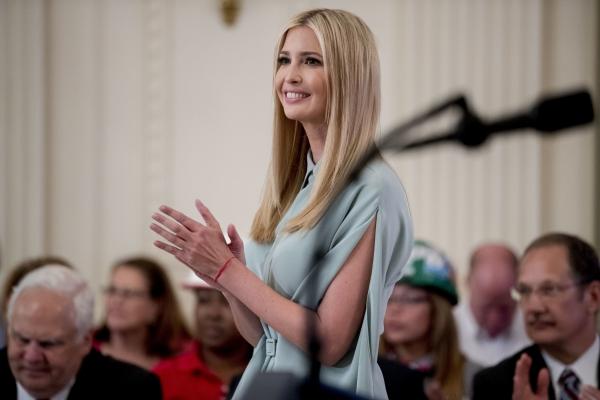 차기 세계은행 총재 후보로 거론된 도널드 트럼프 미국 대통령의 딸인 이방카. ⓒ 뉴시스