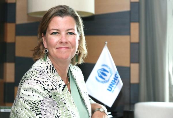 한국을 방문한 켈리 클레멘츠 유엔난민기구(UNHCR) 부대표 ⓒ이정실 여성신문 사진기자