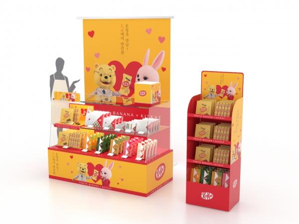킷캣 쇼콜라토리는 발렌타인데이를 맞아 14일까지 롯데백화점 본점과 현대백화점 무역점 외 12개 매장에서 팝업 스토어를 운영합니다.
