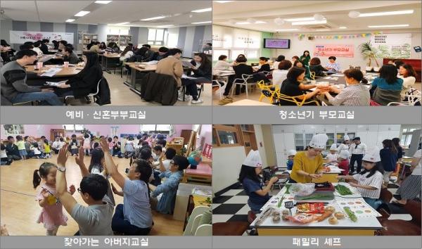 서울가족학교 수업 모습 ⓒ서울시