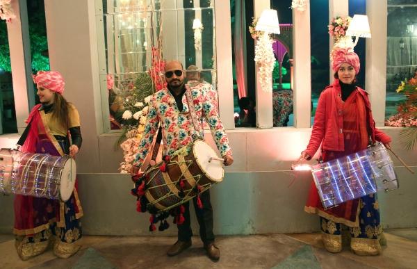 인도 전통 악기를 연주하는 사람들 ⓒ김경호