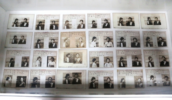 19일 서울 서대문형무소 역사과에서 열린 3.1운동과 임시정부 수립 100주년 특별전 '문화재에 깃든 100년 전 그날'에 여성 독립운동가들의 수형카드가 전시돼 있다.