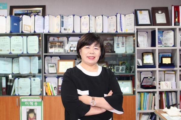 이혜용 한성브라보 대표 ©권은주 기자