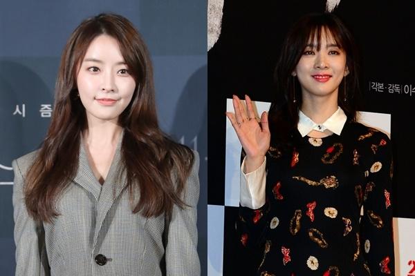 '정준영 동영상' 루머에 법적대응 의사를 밝힌 배우 정유미(왼쪽), 이청아. ⓒ뉴시스·여성신문
