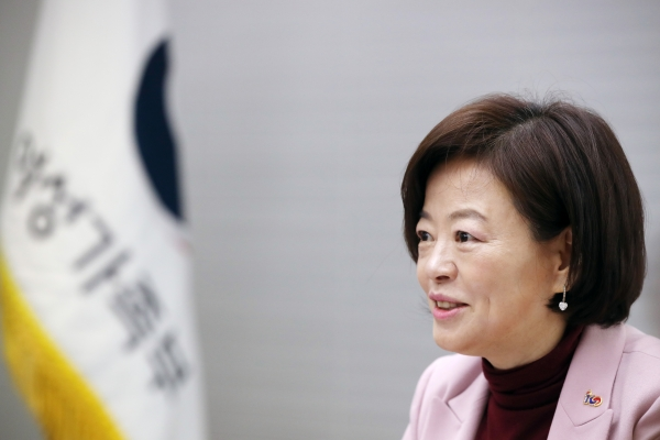 진선미 여성가족부 장관 / 뉴시스·여성신문