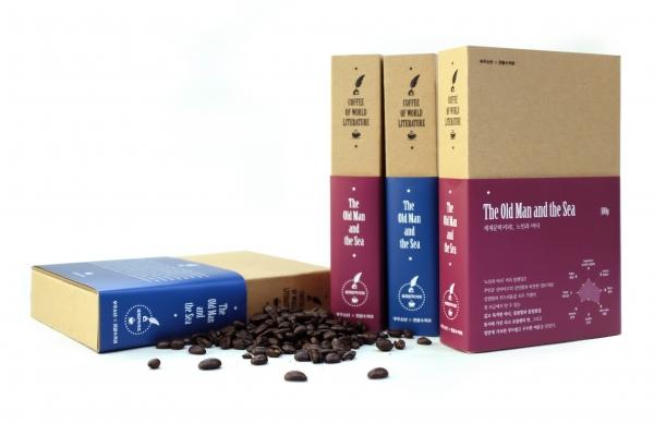 헤밍웨이의 '노인과 바다'를 주제로한 블렌딩 커피가 출시됐다
