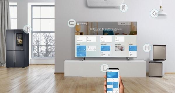 삼성전자는 새 인공지능 서비스 '뉴 빅스비' 등을 가전제품 전반에 적용하고 있다. ⓒ삼성전자