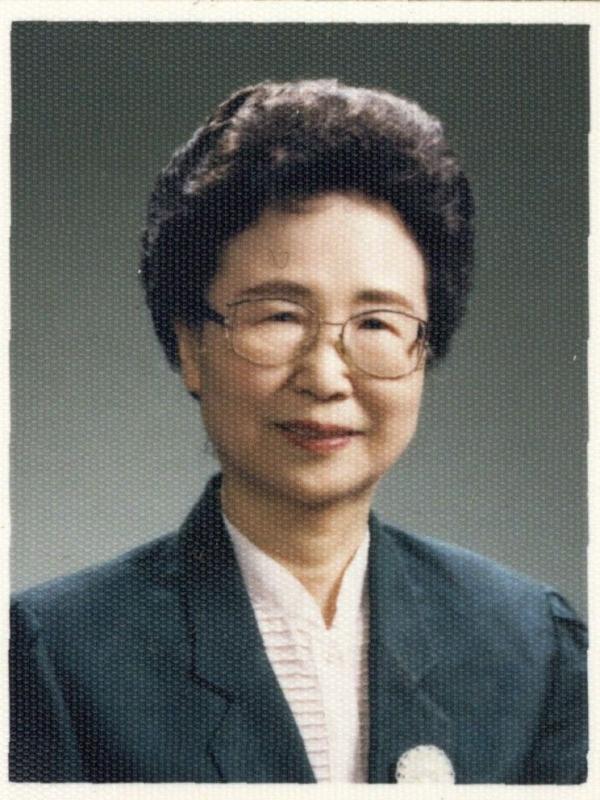 고 김현자 전 국회의원 ⓒ한국YMCA연합회