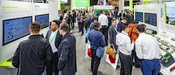 슈나이더일렉트릭은 독일에서 개최중인 '하노버 메세 2019'에서 새 '에코스트럭처 어드바이저' 애플리케이션을 선보였다. ⓒ슈나이더일렉트릭