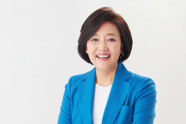 중소벤처기업부 장관에 내정된 박영선 의원. ⓒ청와대 제공