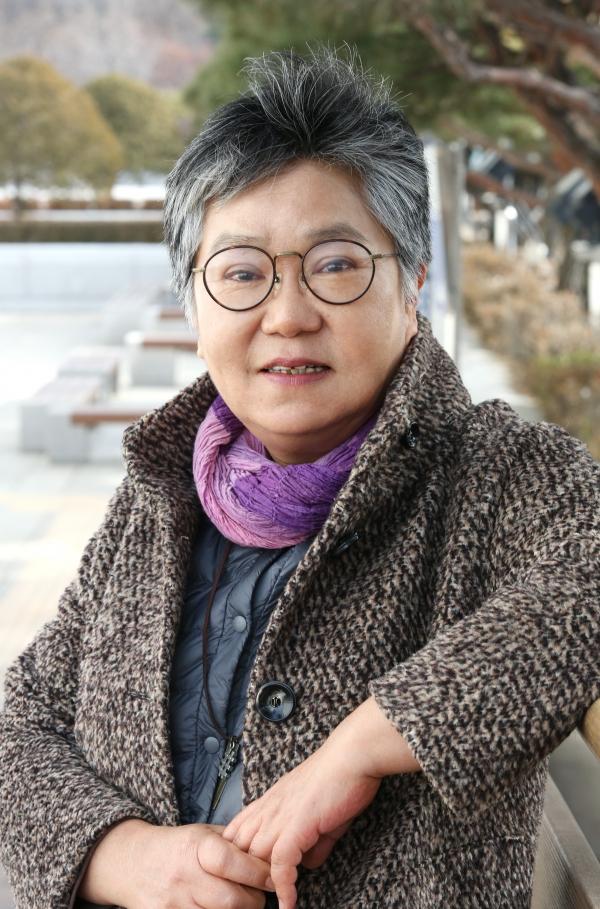 박현숙 작가 ⓒ이정실 여성신문 사진기자