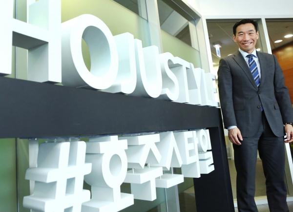 제임스 최 주한호주대사 ⓒ이정실 여성신문 사진기자