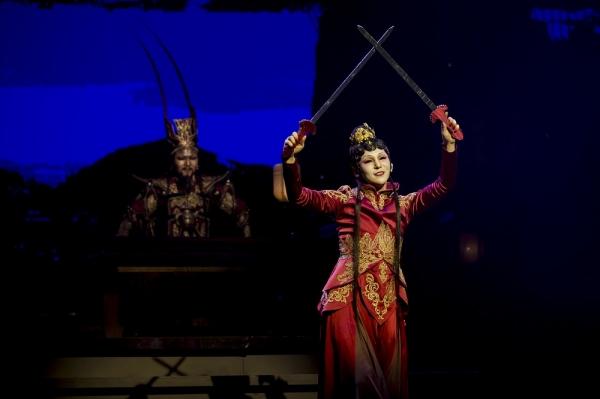 국립창극단의 신작 창극 '패왕별희'의 한 장면. ⓒ국립극장