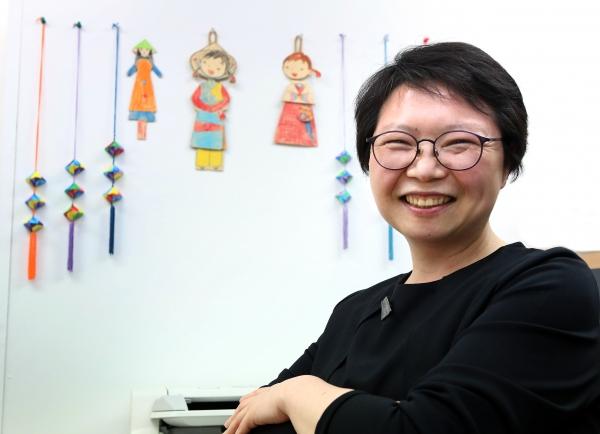허오영숙 한국이주여성인권센터 상임대표 ⓒ이정실 여성신문 사진기자