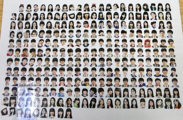 세월호 참사 5주기를 앞둔 지난 7일 경기 안산 단원구 안산교육지원청에 마련된 단원고 416기억교실에 단원고 희생 학생들의 그림이 놓여있다. ⓒ이정실 여성신문 사진기자