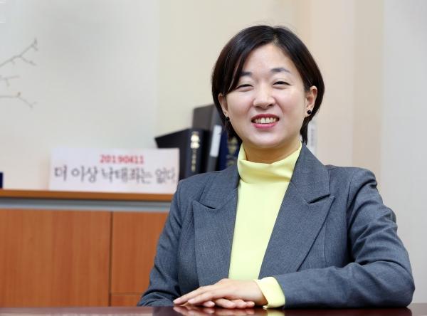 낙태죄 위헌 청구인 공동대리인단장 김수정 변호사