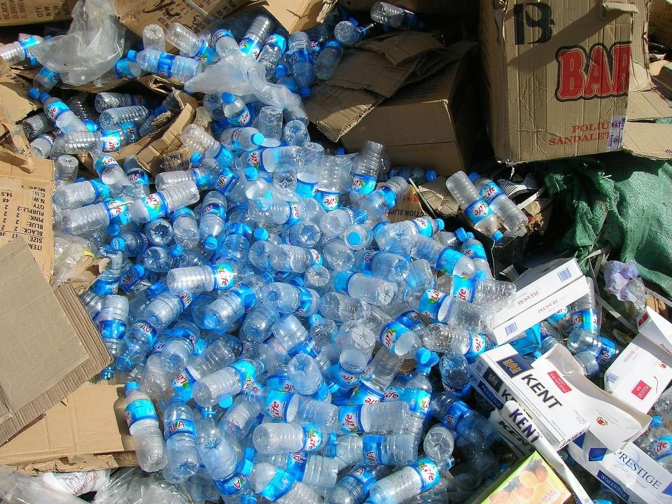 플라스틱 폐기물 ⓒpixabay