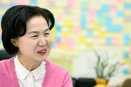 김수영 양천구청장 ⓒ이정실 여성신문 사진기자