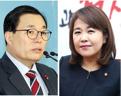 자유한국당 이채익·송희경 국회의원