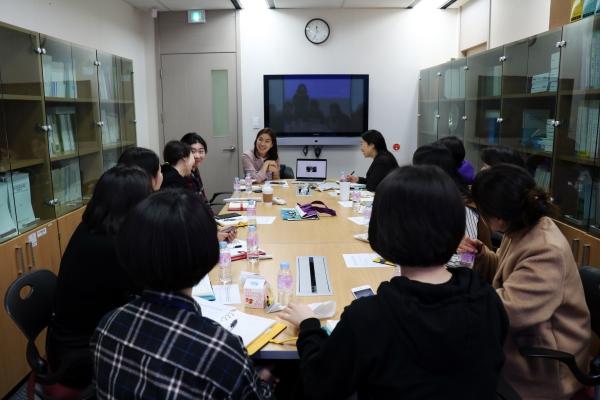 지난 4월 26일 한국여성인권진흥원은 트위터코리아와 젠더폭력 예방을 위한 업무협의를 진행했다. ©한국여성인권진흥원