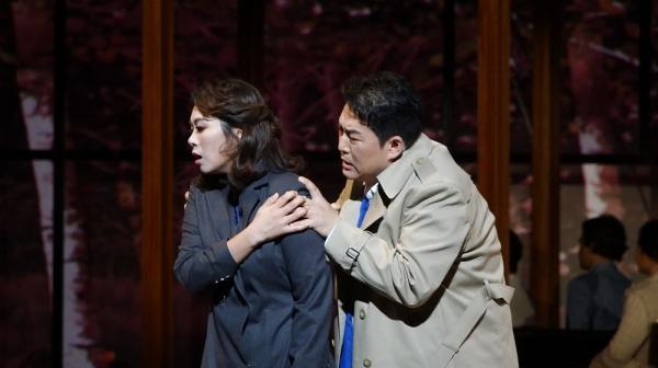 서울시오페라단의 '베르테르' 중 한 장면 ⓒ강일중