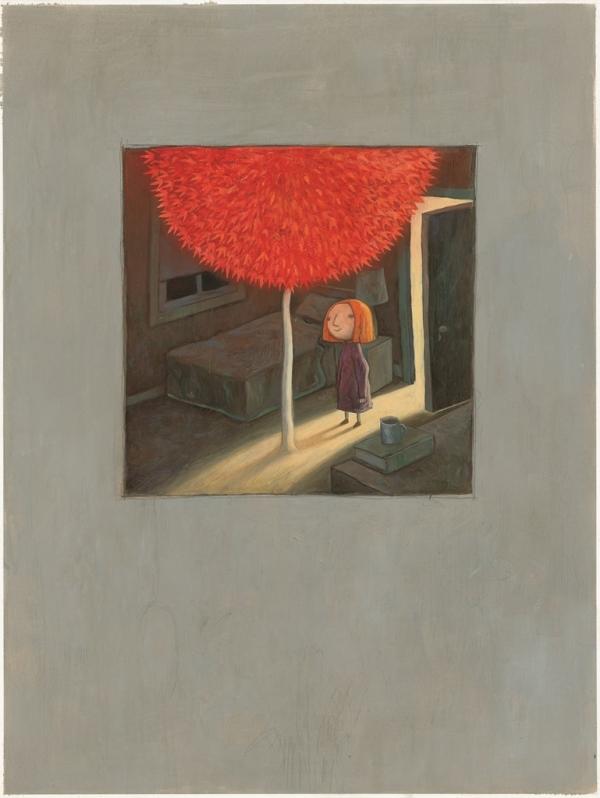 『빨간 나무』 속 한 장면. ©풀빛