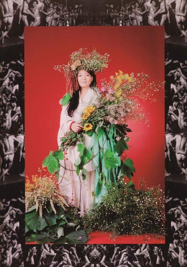 박영숙 작가의 '헤이리 여신 우마드'. 풍요를 상징하고 있는 여신이다. ⓒ수원시립아이파크