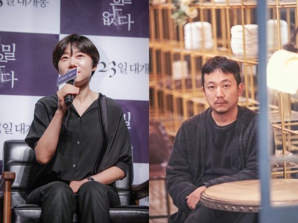 이경미 감독(왼쪽)과 장재현 감독. ⓒ미쟝센 단편영화제