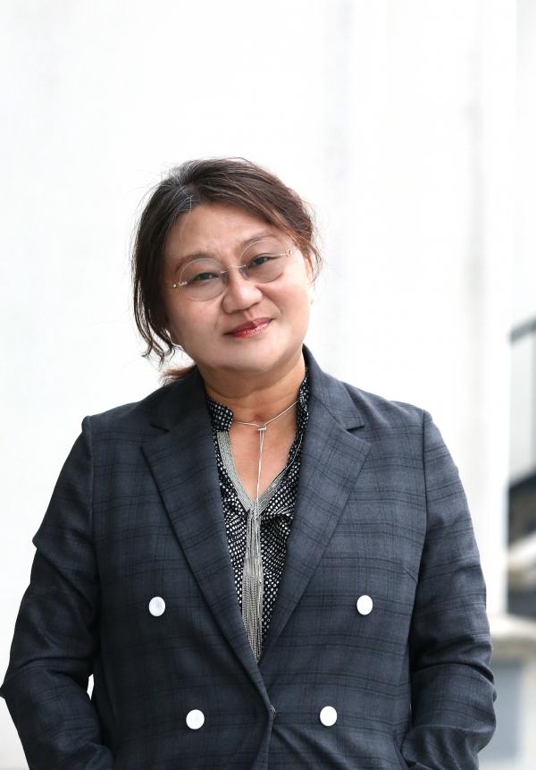 지난 2일 개봉한 다큐멘터리 '굿바이 마이 러브NK: 붉은 청춘'의 김소영 감독 ⓒ이정실 여성신문 사진기자