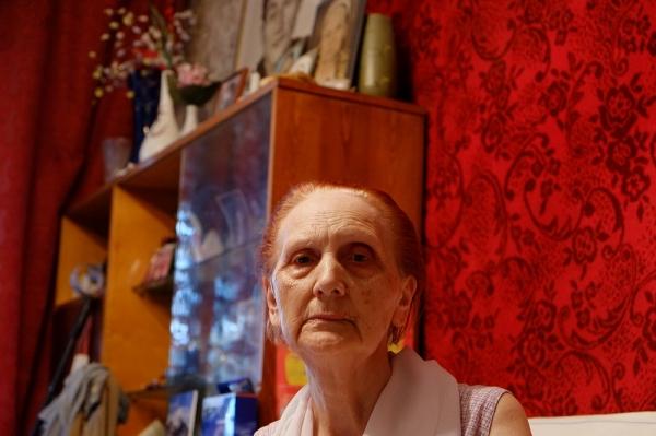 '굿바이 마이 러브NK: 붉은 청춘'에는 한대용의 아내인 지나이다 여사가 나온다. 그는 역사의 교훈을 증언한다. ⓒ시네마달