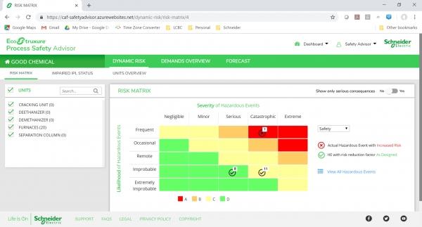 슈나이더일렉트릭이 실시간 기업 자산 및 위기관리 모니터링이 가능한 '에코스트럭쳐 프로세스 세이프티 어드바이저'를 출시했다. ⓒ슈나이더일렉트릭