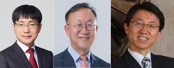 (왼쪽부터) 김영식 신임 법무비서관, 석종훈 신임 중소벤처비서관, 박영범 신임 농해수비서관.